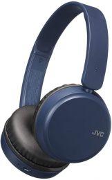 JVC HAS35BTAU - Cuffie Bluetooth con bassi profondi, colore: Blu