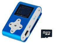 Xtreme 27611B Lettore File Audio con Memory 4 GB, Auricolari e Cavo Mini USB