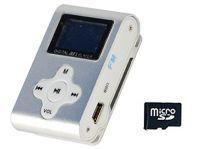 Xtreme 27611S Lettore File Audio con Memory 4 GB, Auricolari e Cavo Mini USB