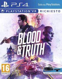 Gioco Blood & Truth per Sony PlayStation VR (Ps4)