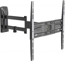 Meliconi SlimStyle Plus 400 SDR, Supporto con Doppio Braccio da Parete per Tv