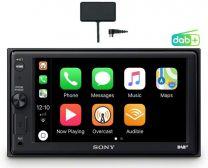 "Sony XAV-AX1005KIT SintoMonitor 2DIN Ricezione DAB/DAB+ Display da 6.4"" Controllo Vocale Bluetooth"