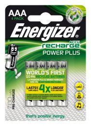 Energizer Accu Recharge Power Plus 700 AAA BP4 batteria ricaricabile Nichel-Metallo Idruro (NiMH) 700 mAh 1,2 V