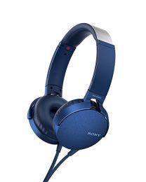 Sony MDR-XB550AP Padiglione auricolare Stereofonico Cablato Blu auricolare per telefono cellulare