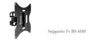 Blunord BS 4105 - Staffa per TV da 19° a 40°, Vesa 200x200, Senza snodo