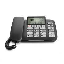 Gigaset DL580 telefono Telefono analogico Nero Identificatore di chiamata