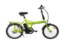 """Smartway F2-L04S2-V bicicletta elettrica Verde Acciaio 50,8 cm (20"""") Ioni di Litio 22 kg"""