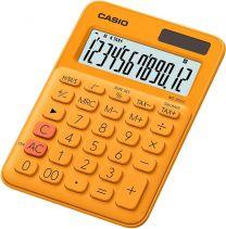 Casio MS-20UC-RG Calcolatrice da Tavolo, Arancione