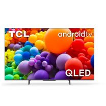 """TCL TV QLED Ultra HD 4K 65"""" 65C725 Android TV Argento"""