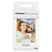 Polaroid ZINK X320 - Carta zincata premium da 2x3 pollici in confezione doppia (20 fogli) - Compatibile con Polaroid Snap, Snap Touch