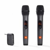 JBL Duo Microfoni Wireless con ricevitore Nero
