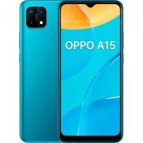 "Oppo A15 16,6 cm (6.52"") 2 GB 32 GB Doppia SIM 4G Blu Android 10.0 4230 mAh"