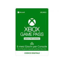 Microsoft Xbox Game Pass 6 mesi