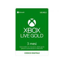 Microsoft Xbox Live Gold 3 mesi