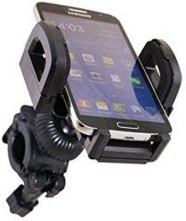Supporto Smartphone per Bici Xtreme 77505 con Aggancio Snodabile, in Ogni Posizione con Apertura da 50 mm a 120 mm