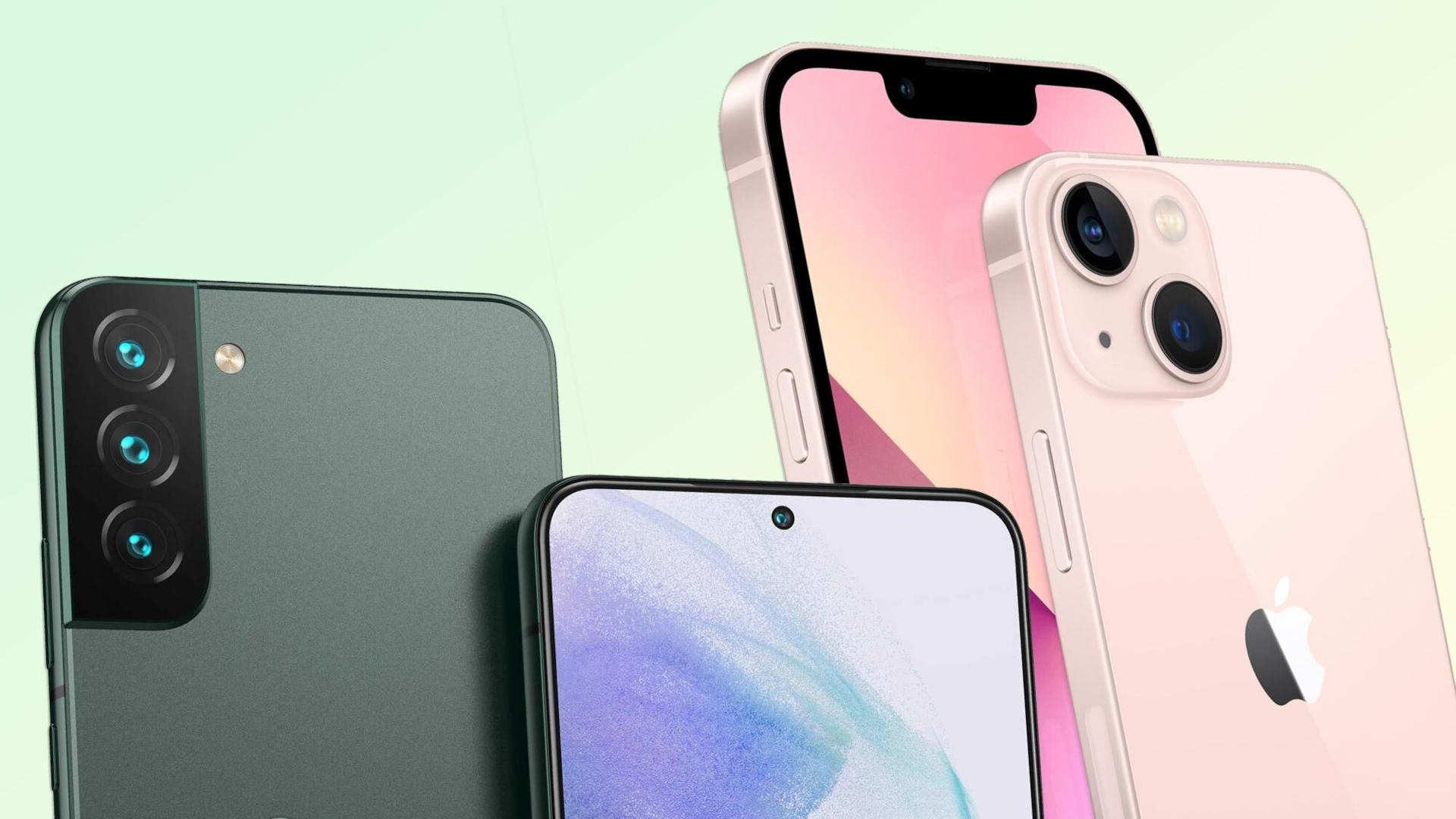Si accende la sfida, iPhone 13 Pro Max vs Samsung Galaxy S22 Ultra: chi la spunterà?
